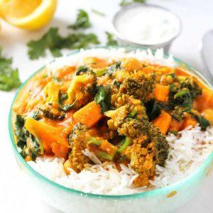 Vegetable (With Basmati Rice)